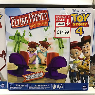 Disney PIXAR Toy Story 4 Flying Frenzy Game on Localy.co.uk (GX1)