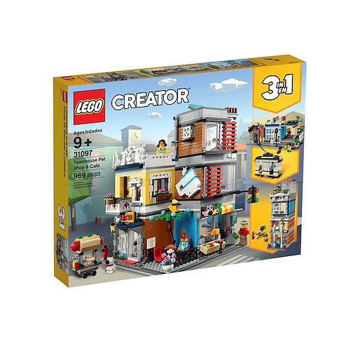 LEGO 31097 Creator Townhouse Pet Shop & Café (GX1)