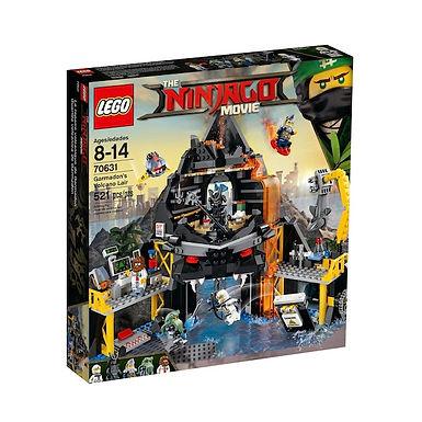 LEGO 70631 The Ninjago Movie Garmadons Volcano Lair (GX1)