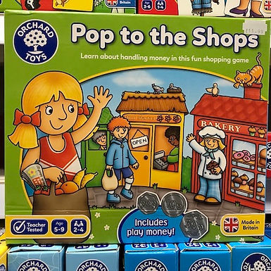 Pop to the Shops Game by Orchard Toys on Localy.co.uk