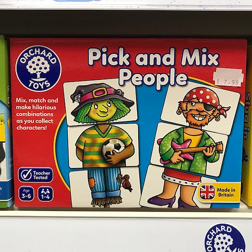 Pick and Mix People Game by Orchard Toys on Localy.co.uk (GX1)