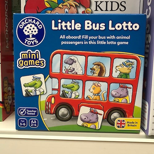Little Bus Lotto Mini Games by Orchard Toys on Localy.co.uk (GX1)