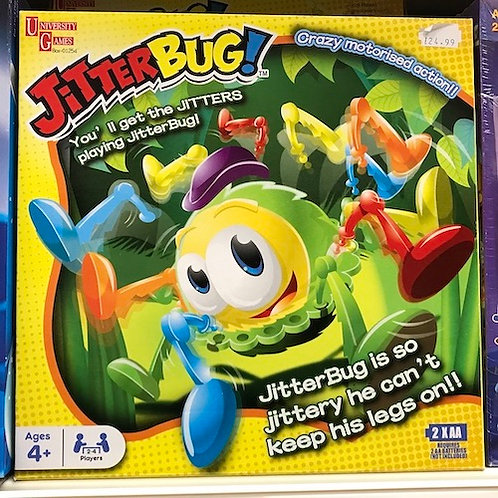 Jitterbug! Game by University Games on Localy.co.uk (GX1)