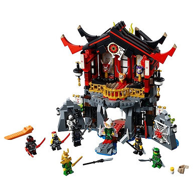 LEGO 70643 Ninjago Temple of Resurrection - HARD TO FIND (GX1)