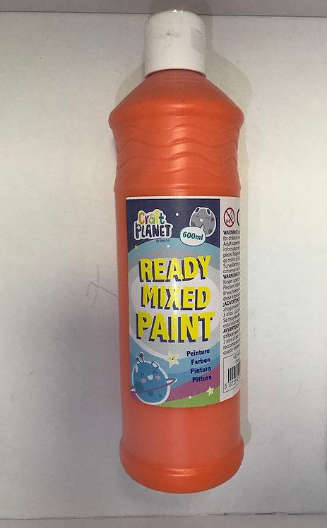 Ready Mix Paint 600ml Orange (GX1)