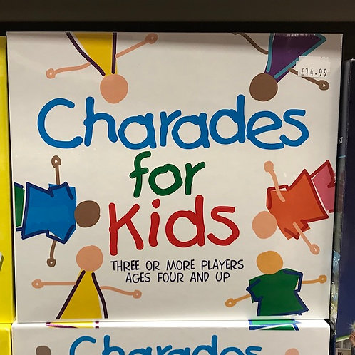 Charades for Kids Game (Paul Lamond Games) on Localy.co.uk (GX1)