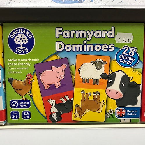 Farmyard Dominoes by Orchard Toys on Localy.co.uk (GX1)