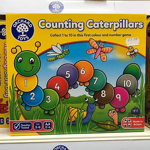 Counting Caterpillars by Orchard Toys on Localy.co.uk (GX1)