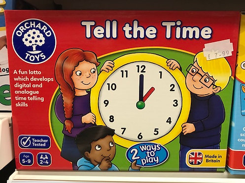 Tell the Time Game (Orchard Toys) on Localy.co.uk (GX1)