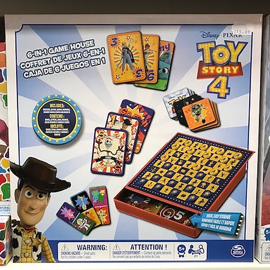 Disney PIXAR Toy Story 4   6-in1 Game by Spin Master on Localy.co.uk (GX1)