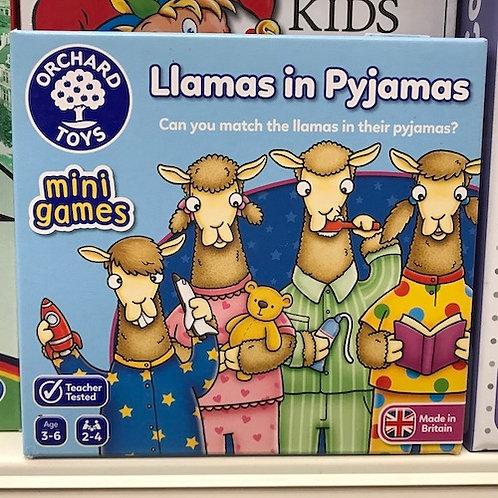 Llamas in Pyjamas Mini Games (Orchard Toys) on Localy.co.uk (GX1)