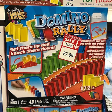 Domino Rally Game on Localy.co.uk (GX1)