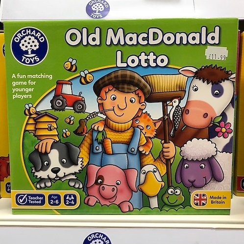 Old MacDonald Lotto by Orchard Toys on Localy.co.uk