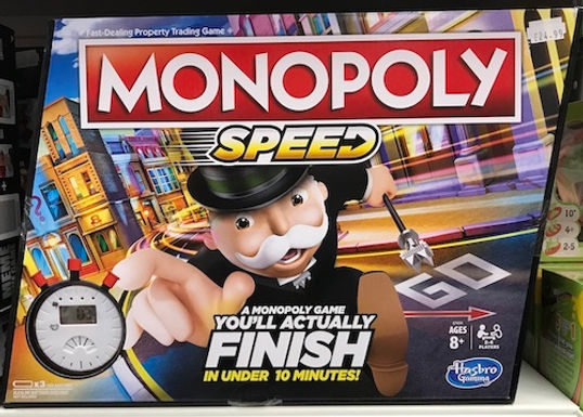 Monopoly Speed (Hasbro Gaming) on Localy.co.uk (GX1)