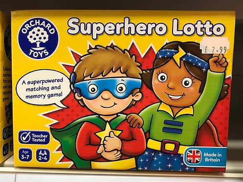 Superhero Lotto by Orchard Toys on Localy.co.uk