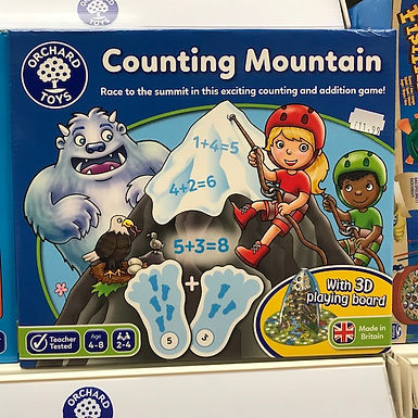 Counting Mountain Game by Orchard Toys on Localy.co.uk (GX1)
