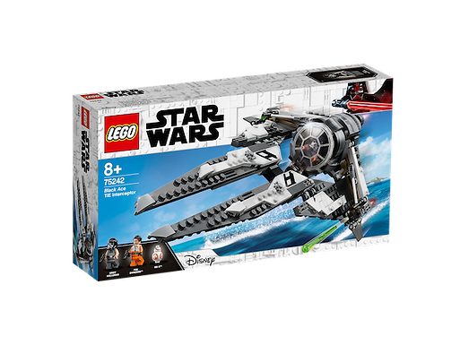LEGO 75242 Star Wars Black Ace TIE Interceptor (GX1)
