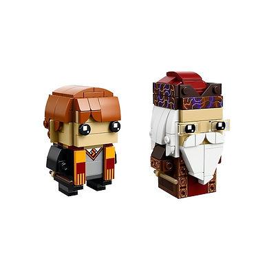 LEGO 41621 Brickheadz Ron Weasley & Albus Dumbledore - HARD T