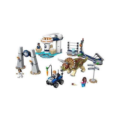 LEGO 75937 Jurassic World Triceratops Rampage (GX1)