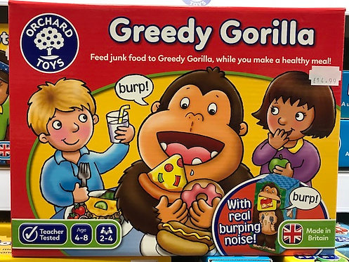 Greedy Gorilla Game by Orchard Toys on Localy.co.uk