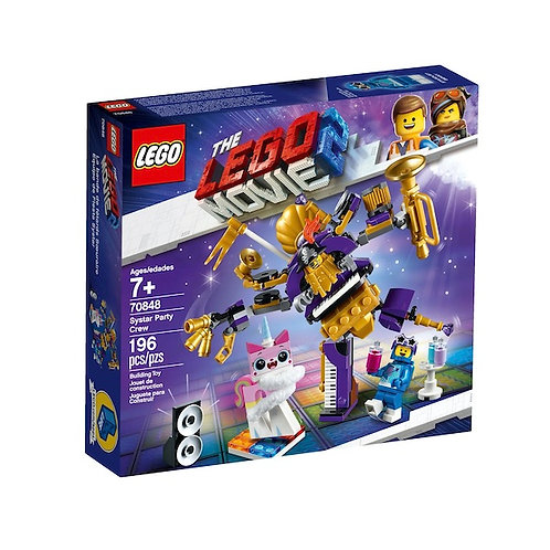 LEGO 70848 Movie 2 Systar Party Crew (GX1)