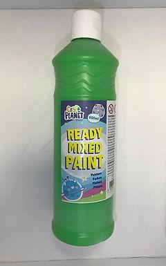 Ready Mix Paint 600ml Leaf Green (GX1)