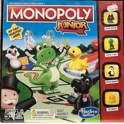 Monopoly Junior Game by Hasbro Gaming (GX1)
