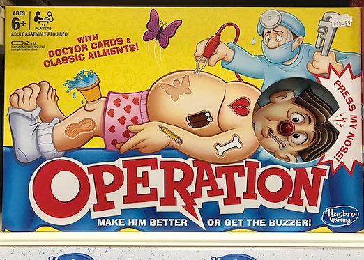 Operation Game (Hasbro Gaming) on Localy.co.uk (GX1)