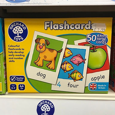 Flashcards by Orchard Toys on Localy.co.uk (GX1)