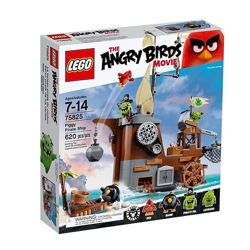 LEGO 75825 The Angry Birds Movie Piggy Pirate Ship (GX1)