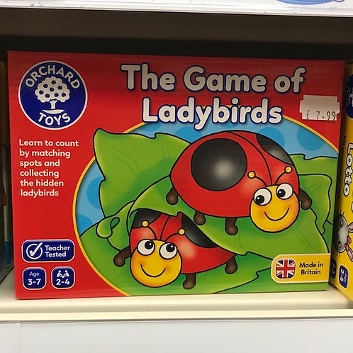 The Game of Ladybirds (Orchard Toys) on Localy.co.uk (GX1)