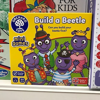 Build a Beetle (Orchard Toys) at JJ Toys