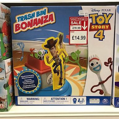 Disney PIXAR Toy Story 4 Trash Bin Bonanza on Localy.co.uk (GX1)
