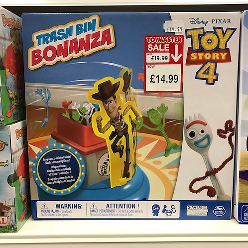 Disney PIXAR Toy Story 4 Trash Bin Bonanza on Localy.co.uk (GX1)