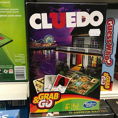 Cluedo Grab and Go Card Game by Hasbro on Localy.co.uk (GX1)