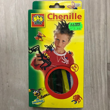 Chenille Pipecleaners 10 Colours at JJ Toys