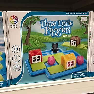 Three Little Piggies Deluxe (Smart Games) on Localy.co.uk (GX1)