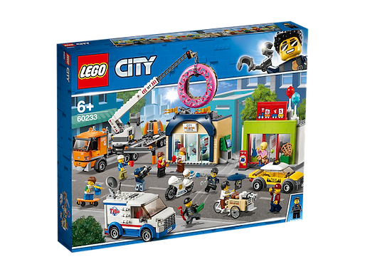 LEGO 60233 City Town Donut shop opening (GX1)