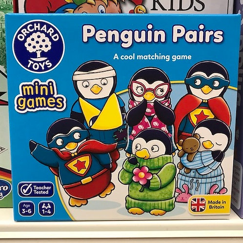 Penguin Pairs by Orchard Toys on Localy.co.uk