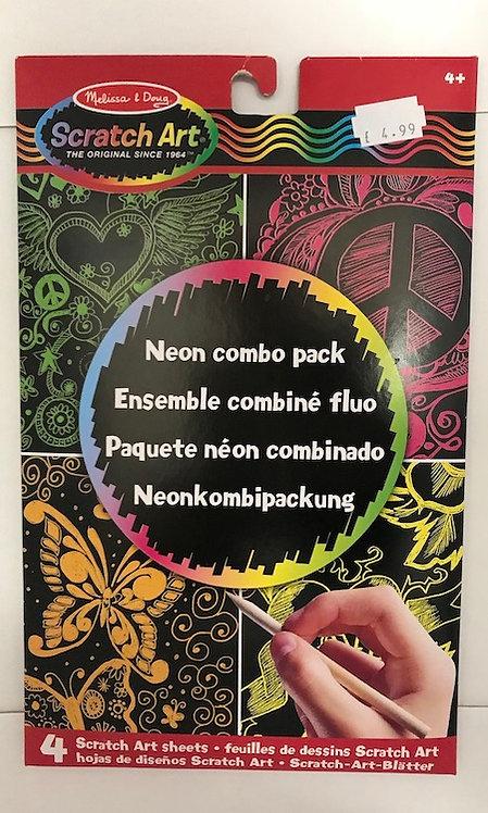 Scratch Art Neon Combo Pack (GX1)