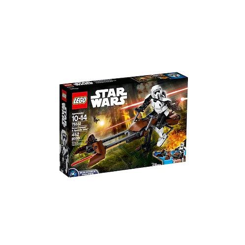 LEGO 75532 Star Wars Scout Trooper & Speeder Bike - HARD TO F