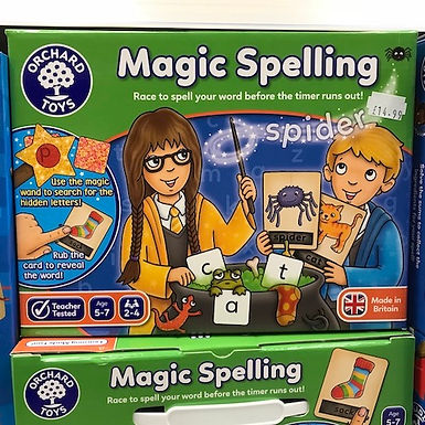 Magic Spelling by Orchard Toys on Localy.co.uk (GX1)