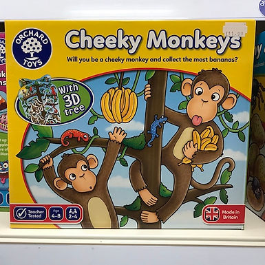 Cheeky Monkeys Game by Orchard Toys on Localy.co.uk (GX1)