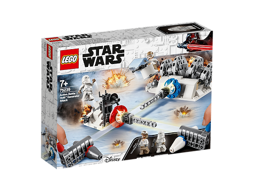 LEGO 75239 Star Wars Action Battle Hoth Generator Attack (GX1)