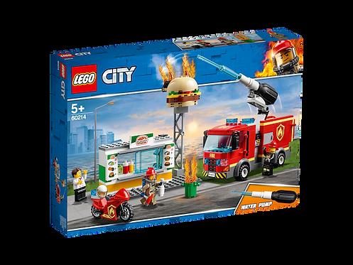 LEGO 60214 City Fire Burger Bar Fire Rescue (GX1)