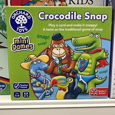 Crocodile Snap Game (Orchard Toys) at JJ Toys