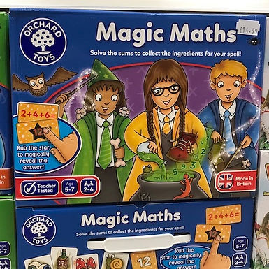 Magic Maths by Orchard Toys on Localy.co.uk (GX1)