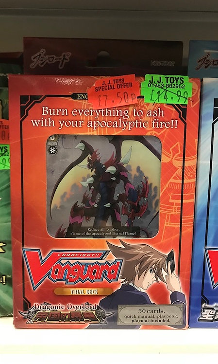 Dragonic Overlord Vanguard Trial Deck at JJ Toys