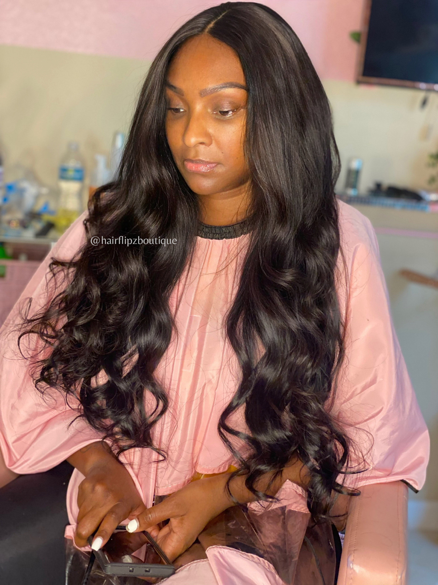 Remove Wefts/Wash/Unit Install