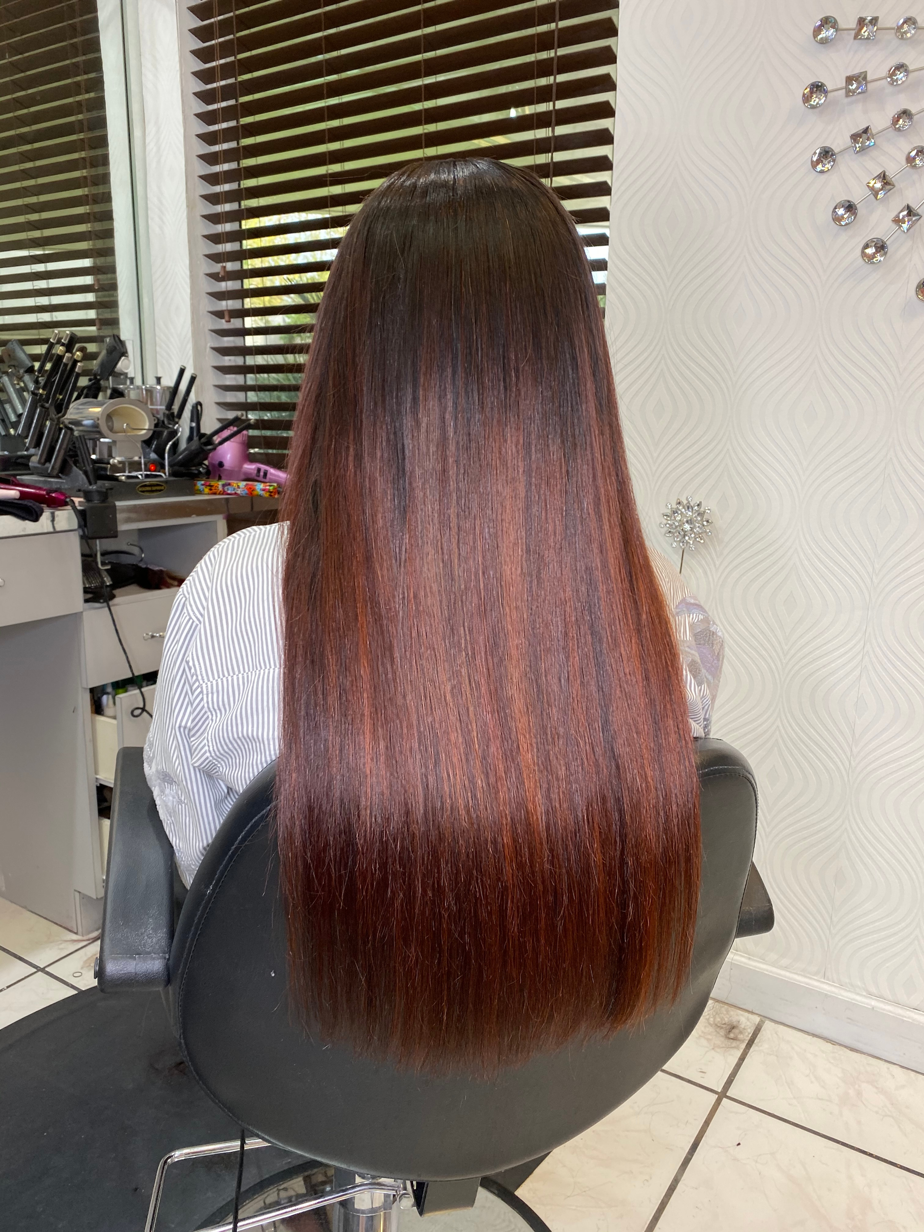 Color Retouch Sew-in